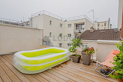 Apartment Paris 20° - Terrace