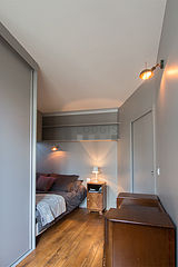 Appartement Paris 4° - Chambre