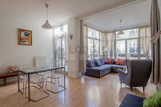 Gare du Nord – Gare de l'Est Paris 10° 2 bedroom Apartment