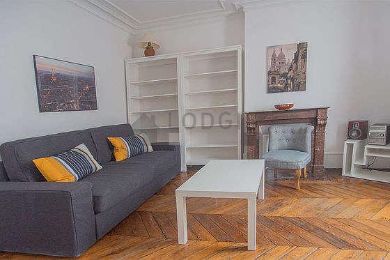 Séjour calme équipé de téléviseur, chaine hifi, 1 fauteuil(s)