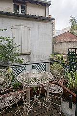 Квартира Париж 13° - Терраса