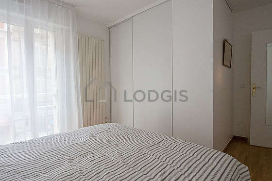 Quiet bedroom for 2 persons equipped with 1 bed(s)