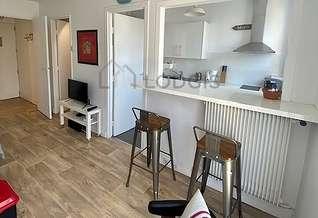Studio avec alcôve Paris 15° Porte de Versailles