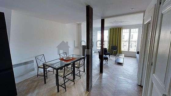 Location appartement 1 chambre avec terrasse et chemin e for Appart hotel paris au mois