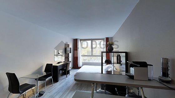 Location studio avec ascenseur et concierge paris 16 avenue paul doumer meubl 28 m for Location studio meuble paris 16
