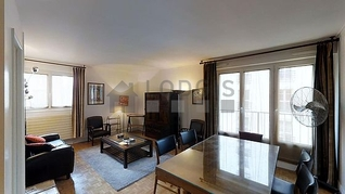La Chapelle Paris 18° 2 quartos Apartamento