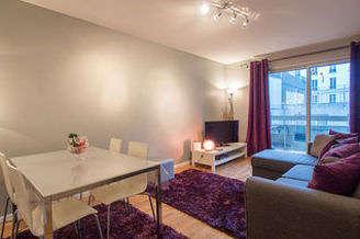 Buttes Chaumont Paris 19° 1 Schlafzimmer Wohnung