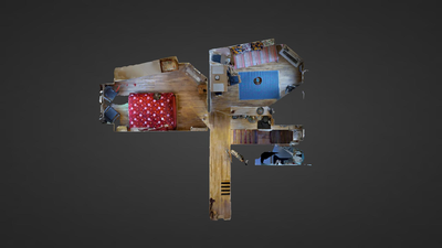 Appartamento Parigi 19° - Piantina interattiva