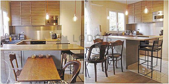 Belle cuisine de 7m² avec du carrelage au sol