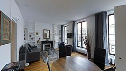 Appartement Paris 4° - Séjour