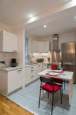 Great kitchen of 10m² with its tile floor