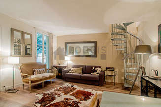 Commerce – La Motte Picquet Париж 15° 2 спальни Дуплекс
