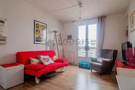 Séjour très calme équipé de 1 canapé(s) lit(s) de 160cm, téléviseur, 2 chaise(s)