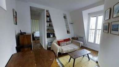Invalides 巴黎7区 1個房間 公寓