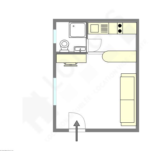 公寓 巴黎9区 - 互動圖