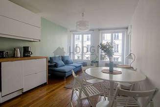 Gare du Nord – Gare de l'Est Paris 10° 1 Schlafzimmer Wohnung