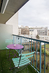Apartamento París 6° - Terraza