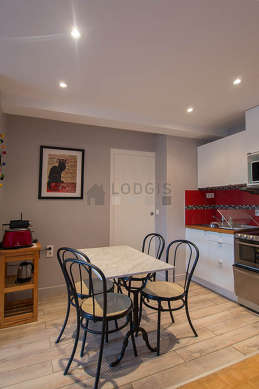 Great kitchen of 5m² with tile floor
