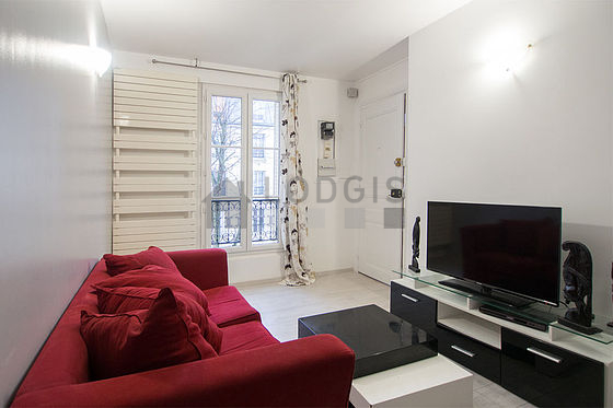 Location appartement 1 chambre avec concierge paris 15 for Location studio meuble paris 15