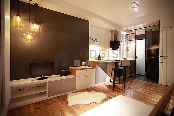 Magnifique cuisine de 1m² avec du carrelage au sol