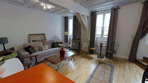 Séjour très calme équipé de 1 canapé(s) lit(s) de 160cm, air conditionné, téléviseur, 3 fauteuil(s)
