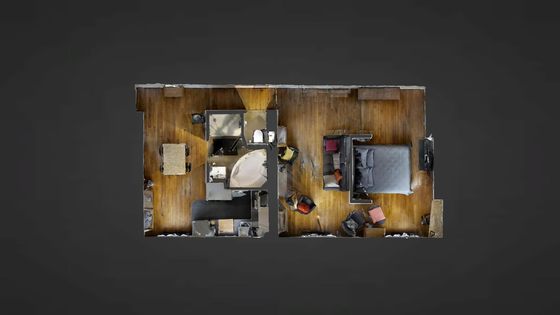 Loft Paris 11° - Interactive plan