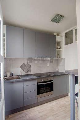 Magnifique cuisine de 5m² avec du linoleum au sol