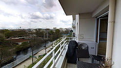 Apartment Paris 19° - Terrace