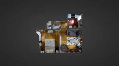 Appartamento Val de Marne Sud - Piantina interattiva