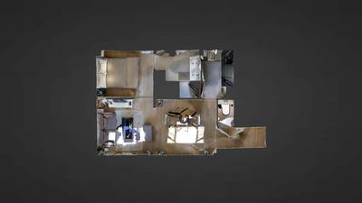 Квартира Париж 2° - Интерактивный план