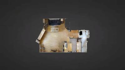 公寓 巴黎17区 - 平面图