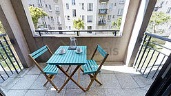 Apartamento París 12° - Terraza