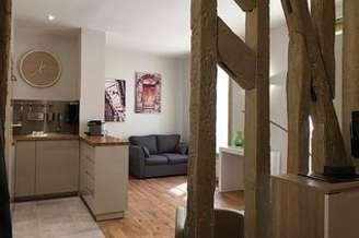 Invalides Paris 7° Estúdio com espaço dormitorio