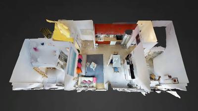 Appartement Paris 10° - Plan interactif