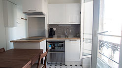 Appartement Paris 3° - Cuisine