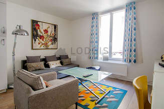 Montparnasse Paris 14° Estúdio com espaço dormitorio