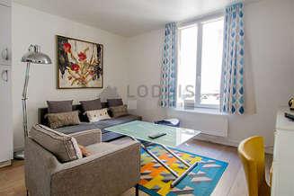 Montparnasse Paris 14° studio mit alkoven