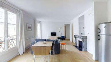 Париж 1° 1 спальня Квартира