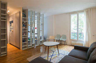 Gambetta Paris 20° studio with alcove