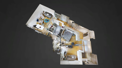 Apartamento París 12° - Plano interactivo