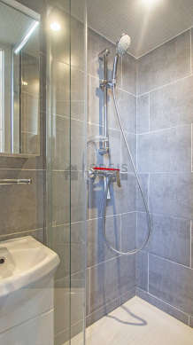 Bathroom equipped with separate shower