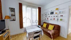 Apartamento París 14° - Salón