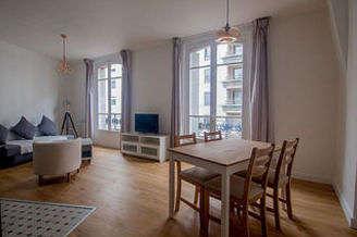 La Villette Париж 19° 1 спальня Квартира