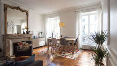 Pigalle – Saint Georges Paris 9° 1 quarto Apartamento