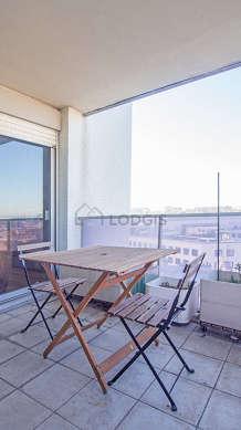 Terrasse exposée plein ouest