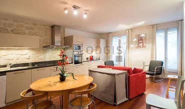 Canal Saint Martin Paris 10° 2 Schlafzimmer Wohnung