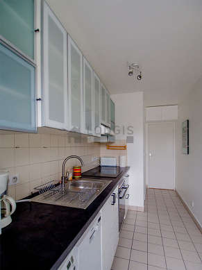 Very bright kitchen