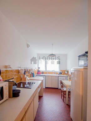 Great kitchen of 11m² with its tile floor