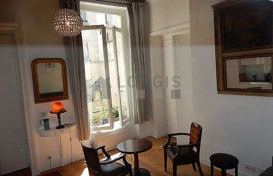 Quiet living room furnished with 1 sofabed(s), air conditioning, tv, 2 armchair(s)