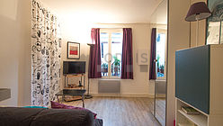 Apartment Paris 19° - Living room
